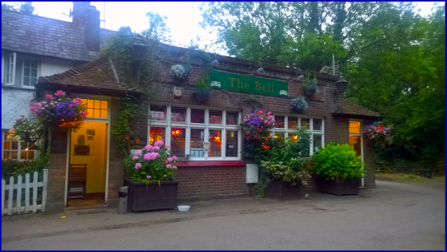 Front of The Bell/The Rat, Walton on the Hill